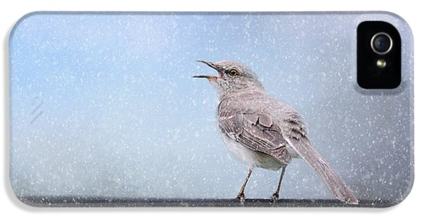 Mockingbird In The Snow IPhone 5s Case