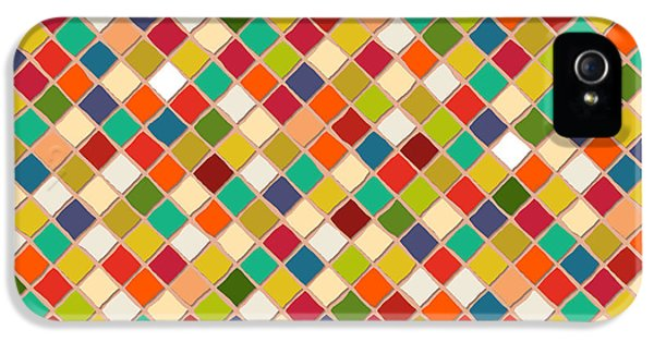 Mosaico IPhone 5s Case by Sharon Turner