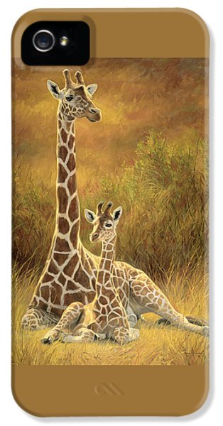 Mother And Son IPhone 5s Case by Lucie Bilodeau