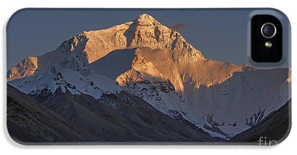 Mount Everest At Dusk IPhone 5s Case by Hitendra SINKAR