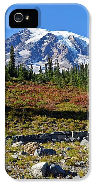 Mount Rainier IPhone 5s Case
