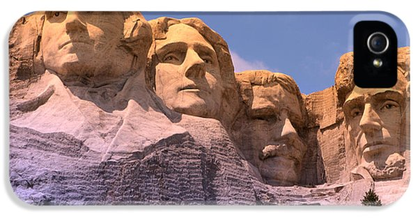 Mount Rushmore IPhone 5s Case by Olivier Le Queinec