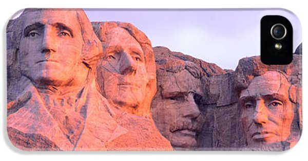 Mount Rushmore, South Dakota, Usa IPhone 5s Case by Panoramic Images