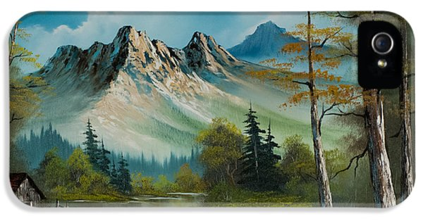 Mountain Retreat IPhone 5s Case