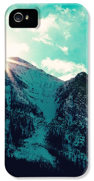 Mountain Starburst IPhone 5s Case by Kim Fearheiley