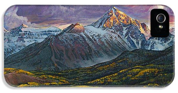 Mt. Sneffels IPhone 5s Case by Aaron Spong