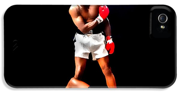 Sonny iPhone 5s Case - Muhammad Ali Get Up And Fight Sucker by Brian Reaves
