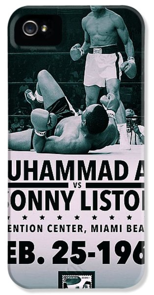 Sonny iPhone 5s Case - Muhammad Ali Poster by Dan Sproul
