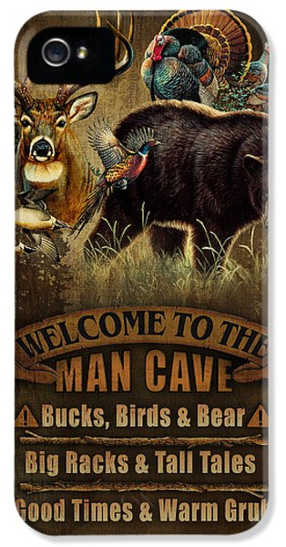 Pheasant iPhone 5s Case - Multi Specie Man Cave by JQ Licensing