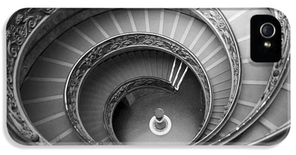 IPhone 5s Case featuring the photograph Musei Vaticani Stairs by Nathan Rupert