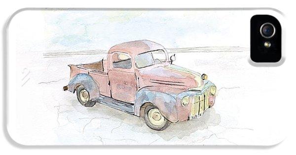 Truck iPhone 5s Case - My Favorite Truck by Joan Sharron