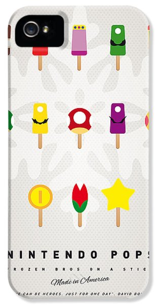 Peach iPhone 5s Case - My Mario Ice Pop - Univers by Chungkong Art