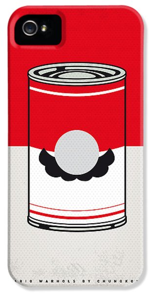 Donkey iPhone 5s Case - My Mario Warhols Minimal Can Poster-mario by Chungkong Art
