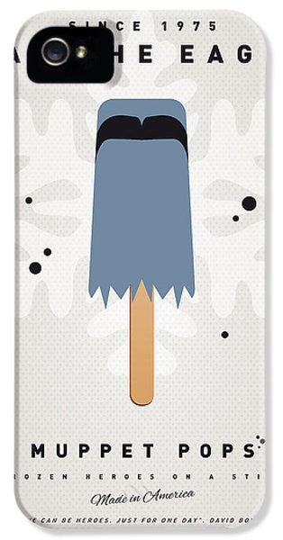 Eagle iPhone 5s Case - My Muppet Ice Pop - Sam The Eagle by Chungkong Art