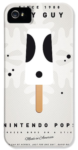 Peach iPhone 5s Case - My Nintendo Ice Pop - Shy Guy by Chungkong Art