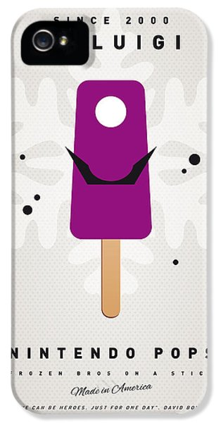 Peach iPhone 5s Case - My Nintendo Ice Pop - Waluigi by Chungkong Art