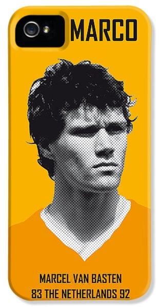 My Van Basten Soccer Legend Poster IPhone 5s Case by Chungkong Art