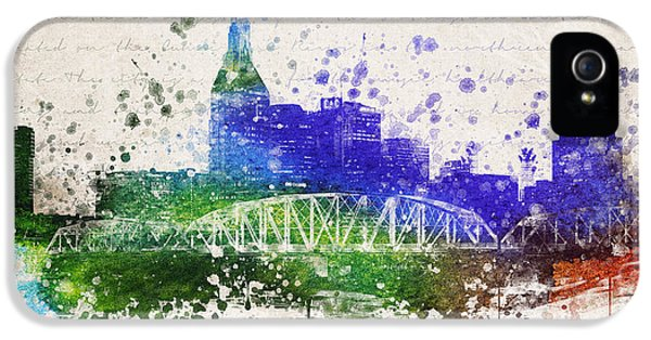 Nashville In Color IPhone 5s Case