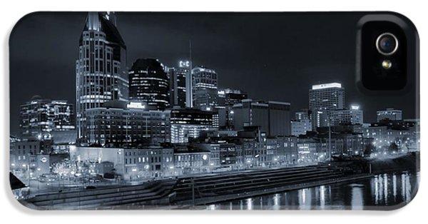 Nashville Skyline At Night IPhone 5s Case