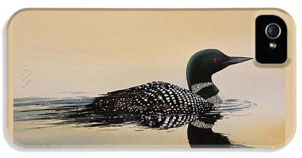 Loon iPhone 5s Case - Nature So Fair by James Williamson