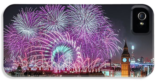 New Year Fireworks IPhone 5s Case