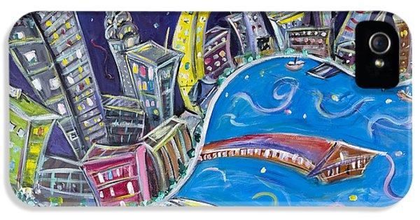New York City Nights IPhone 5s Case by Jason Gluskin