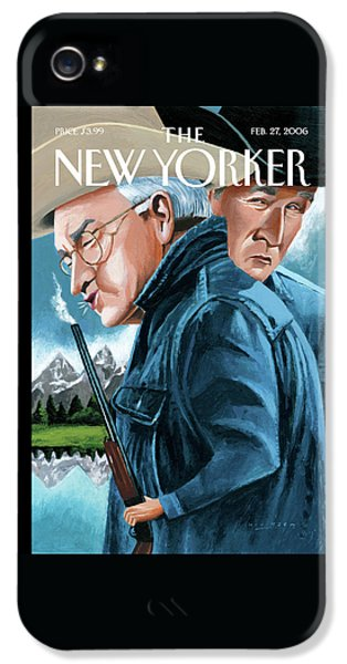 George Bush iPhone 5s Case - New Yorker February 27th, 2006 by Mark Ulriksen