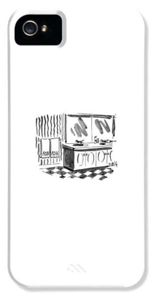 Hillary Clinton iPhone 5s Case - New Yorker March 1st, 1993 by Donald Reilly