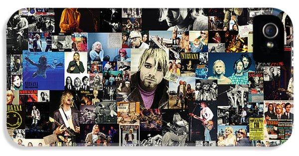 Nirvana Collage IPhone 5s Case
