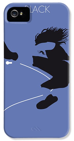 No008 My Pearl Jam Minimal Music Poster IPhone 5s Case by Chungkong Art