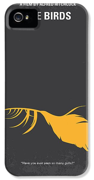 Seagull iPhone 5s Case - No110 My Birds Movie Poster by Chungkong Art