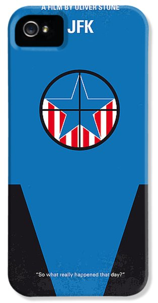 No111 My Jfk Movie Poster IPhone 5s Case by Chungkong Art