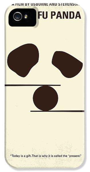 Dragon iPhone 5s Case - No227 My Kung Fu Panda Minimal Movie Poster by Chungkong Art