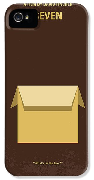 Hollywood iPhone 5s Case - No233 My Seven Minimal Movie Poster by Chungkong Art