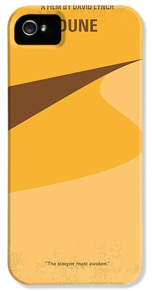 No251 My Dune Minimal Movie Poster IPhone 5s Case by Chungkong Art