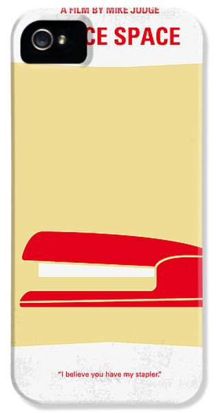 No255 My Office Space Minimal Movie Poster IPhone 5s Case by Chungkong Art