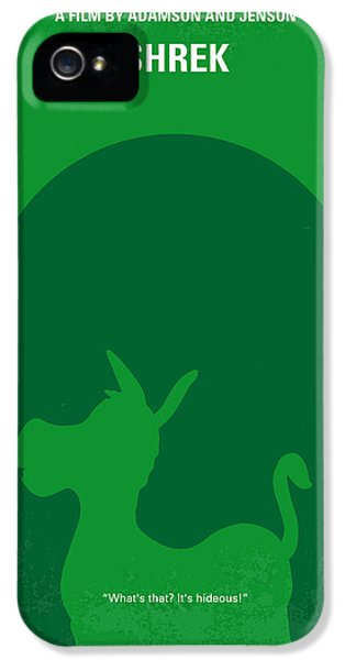 Donkey iPhone 5s Case - No280 My Shrek Minimal Movie Poster by Chungkong Art