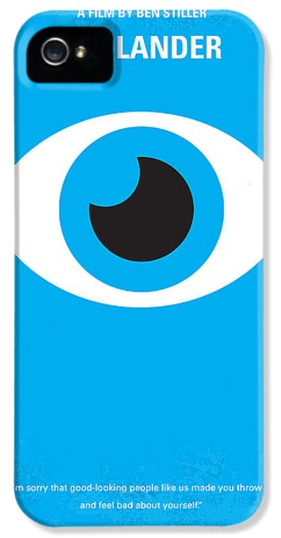 No362 My Zoolander Minimal Movie Poster IPhone 5s Case by Chungkong Art