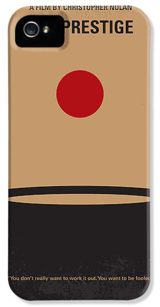 Magician iPhone 5s Case - No381 My The Prestige Minimal Movie Poster by Chungkong Art