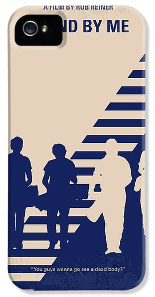 Time iPhone 5s Case - No429 My Stand By Me Minimal Movie Poster by Chungkong Art