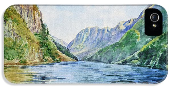 Norway Fjord IPhone 5s Case