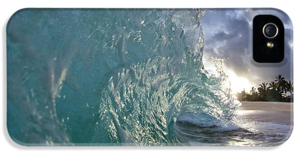 Water Ocean iPhone 5s Case - Coconut Curl by Sean Davey