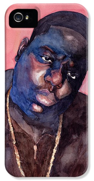 Biggie iPhone 5s Case - Notorious by Max Good