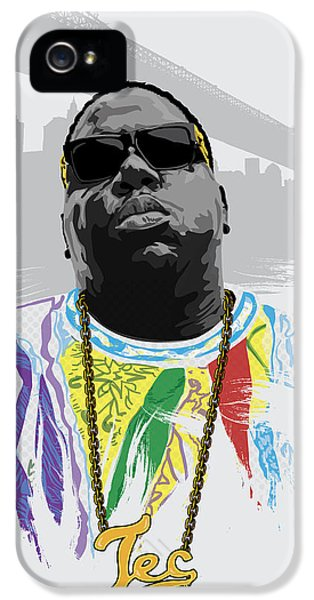 Biggie iPhone 5s Case - Notorious by Tec Nificent