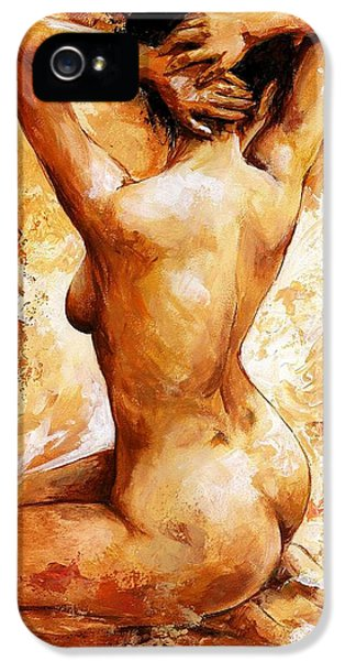 Nude 06 IPhone 5s Case by Emerico Imre Toth