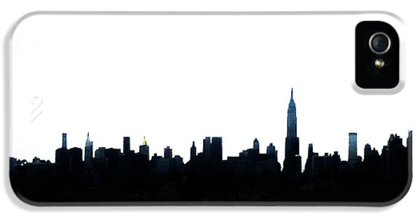 Nyc Silhouette IPhone 5s Case by Natasha Marco