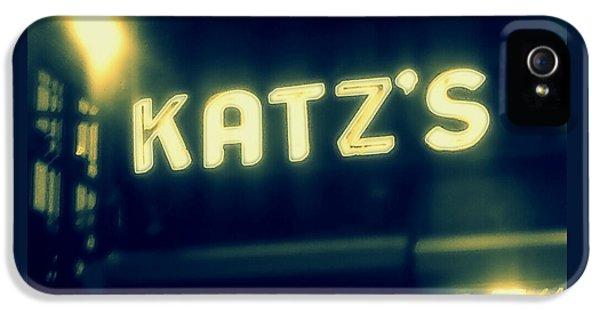 Nyc's Famous Katz's Deli IPhone 5s Case