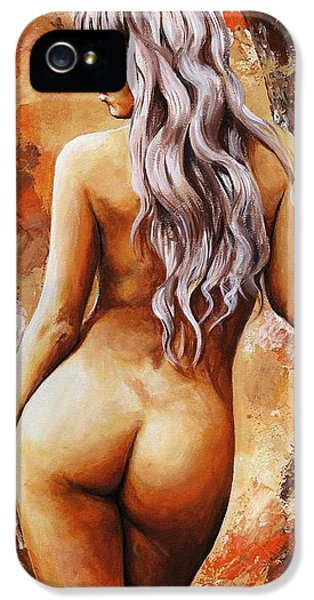Nymph 02 IPhone 5s Case by Emerico Imre Toth