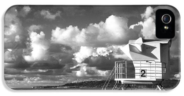Ocean Beach Lifeguard Tower IPhone 5s Case