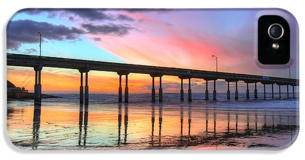 Ocean Beach Sunset IPhone 5s Case